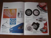UK 1970's Volkswagen Accessories Brochure