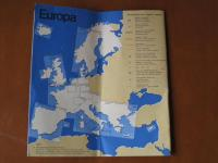 1968 EUROPA VW Service Map