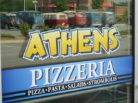 Athens Pizza after the Bug Squash