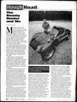 Bounter Hunter Movie Car