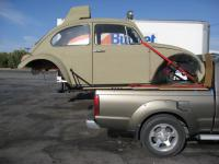 Baja Bug On Nissan Frontier Rails