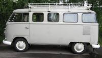 Kharon's '61 windowed panel van