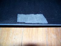 ribbed mat material