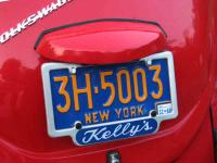 My new license plate frame and vintage plate