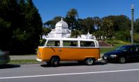 Bus and Conservatory of Flowers