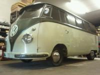 98% original 1955 Sunroof standard, except drivetrain