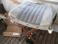Seat back details