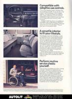 Handicapped equipped brochure