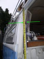 upper seat belt bolt