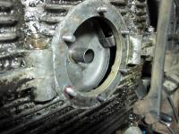 New Oil Drain Plate Studs