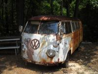 VW's Rotting Away, Sitting In Fields, Returning To Earth...