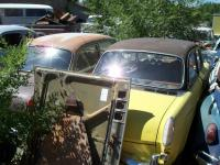 Vintage VW junkyard found during my 3 weeks journey.