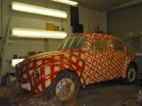 Unusual paint job