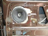 door speaker mount