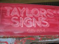 Old Faux Sign