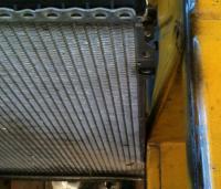 air to audi 5 radiator back