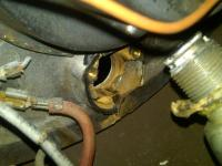 1951 split bug ignition