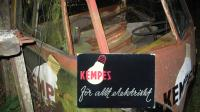 Kempes Bus with Box of matches logo