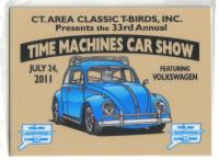 The official event dash plaques for Time Machines 2011