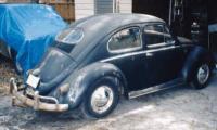 Oval Window Bug Trailer Hitch