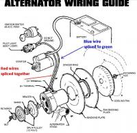 alternator hook up