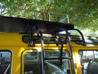 Westy police rof rack with sliding ladder