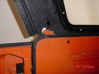FiberJet  fiberglass hardtop