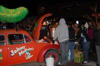 Logo'd Bug, Pickle, Soup, Red, Roof Rack, Custom interior
