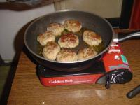 Gas cooker I use while camping