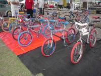 VW Jamboree 2011. What nice bike's.