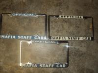 MAFIA STAFF CAR FRAMES