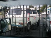 Van spotted