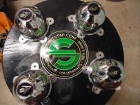 CNC 5 spoke center caps