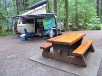 2011 Vancouver Island Westy camping photos