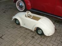 Beetle convertible pedal car body