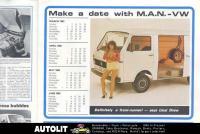 VW Van LT, Woman, Sexy