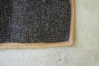 '59 Kabrio NOS rear wheel carpet