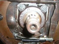 Rear axle bearing housings
