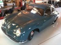 azure blue 1951 Porsche
