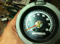 Early Bay Bus tachometer DIY