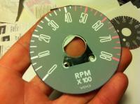 Early Bay Bus tachometer DIY