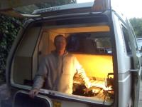 me in the van