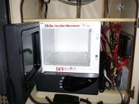 Microwave under sink