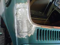 C pillar repair in house