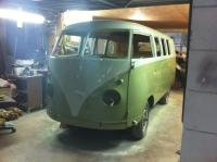 Bus is painted and ready to assemble!