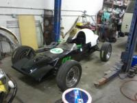 Formula Vee for 36 hp challenge, bonneville