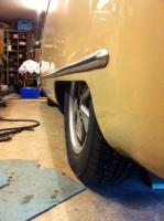 Deep 6 in Barndoor with tire