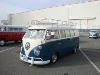 Lowered Sea Blue Standard Microbus