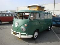 Velvet Green Camper