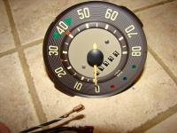speedometer and turnsignal clean up and repair